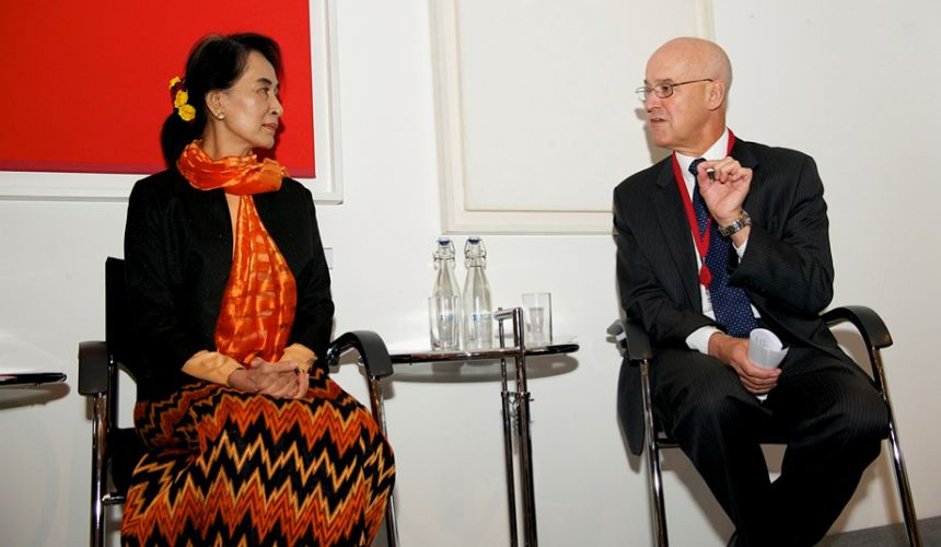 VC & Aung Sang Suu Kyi