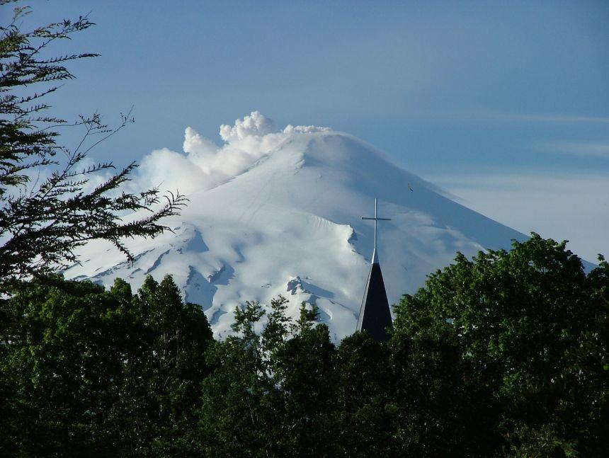 (Villarrica) volcano, Chile