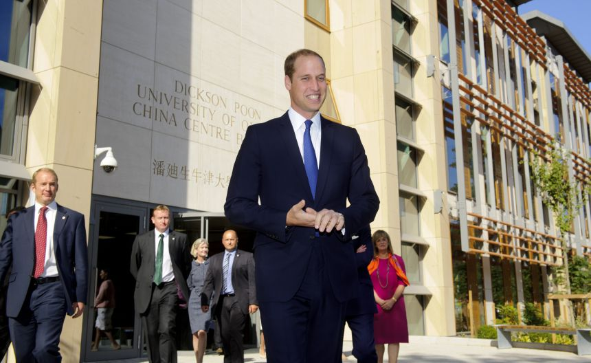 The Duke of Cambridge opened the new China Centre
