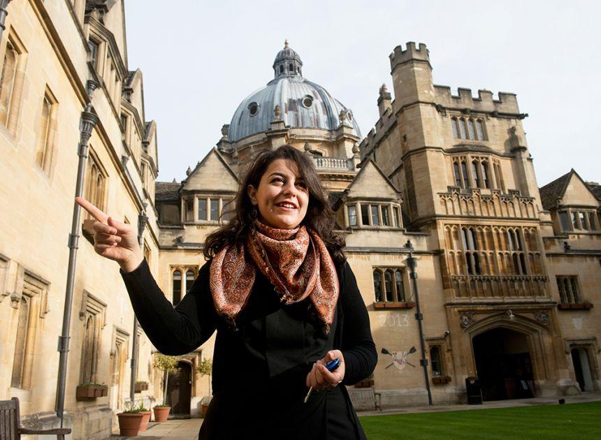 Syrian student Manar Marzouk