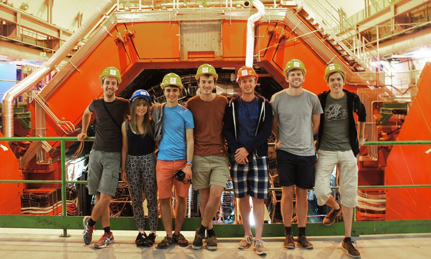 Group in CERN