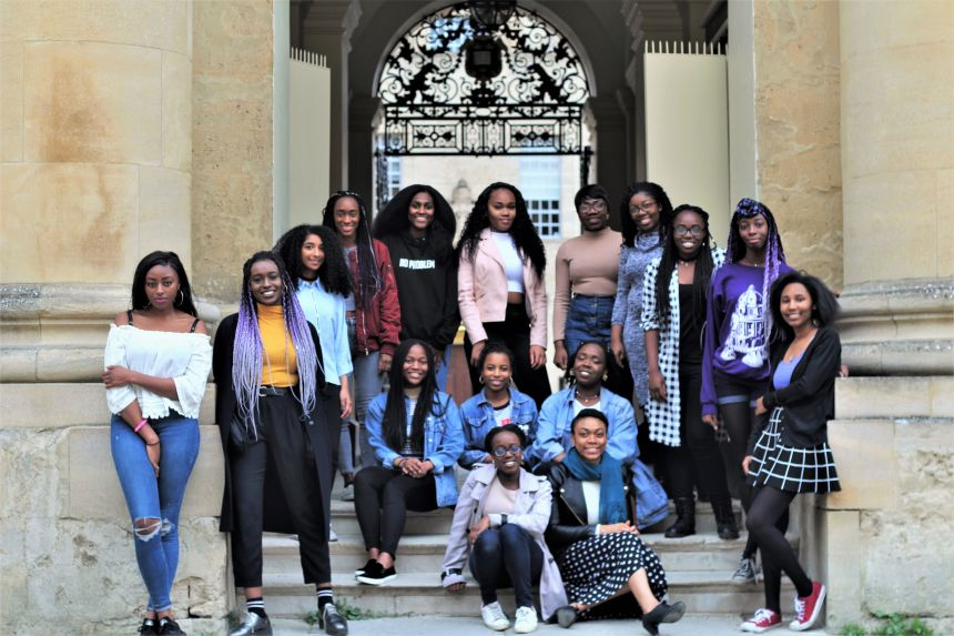 Oxford's black students join inspirational online drive