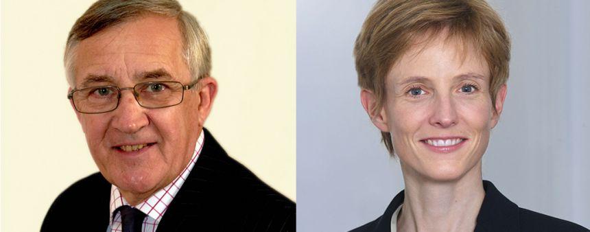 Sir Gerald Howarth and Professor Gwendolyn Sasse