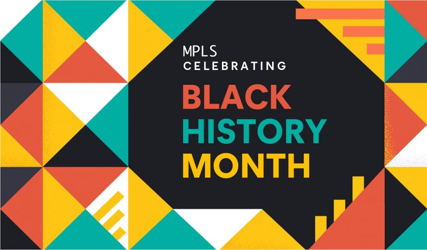 Black History Month at MPLS banner