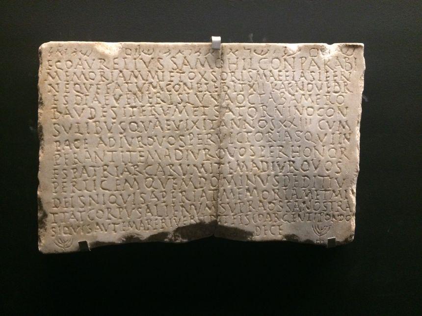 Funeral Inscription of Aurelius Samohil