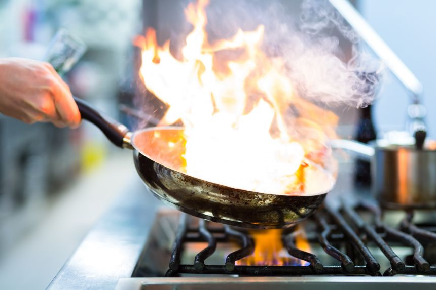 In her spare time Professor Russell enjoys cooking for her family, and has found parallels between chemistry and cooking. Chefs experiment with flavour combinations, while scientists cook up drugs for clinical use. Image credit: SHUTTERSTOCK