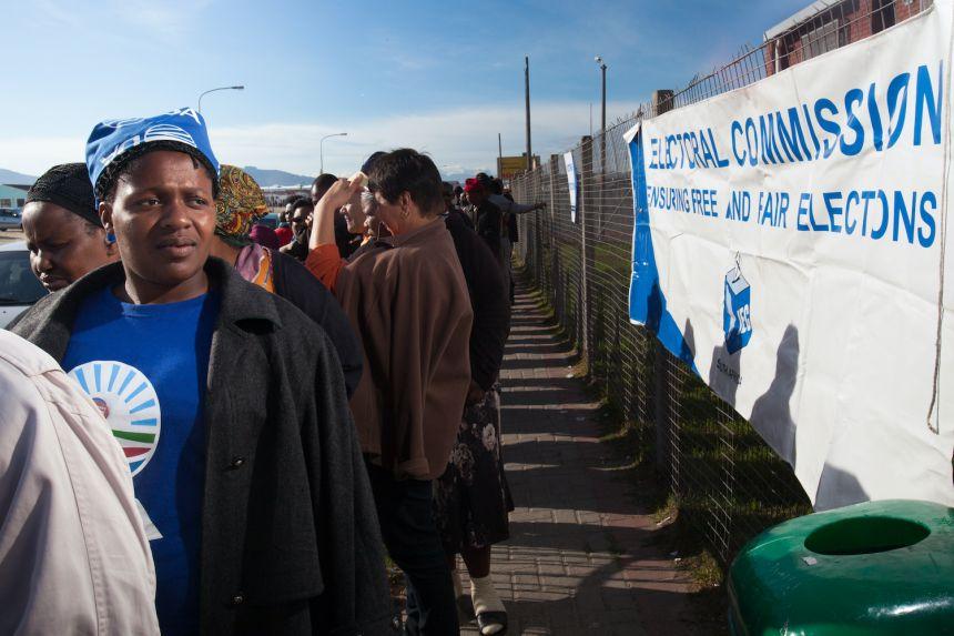Voter queue