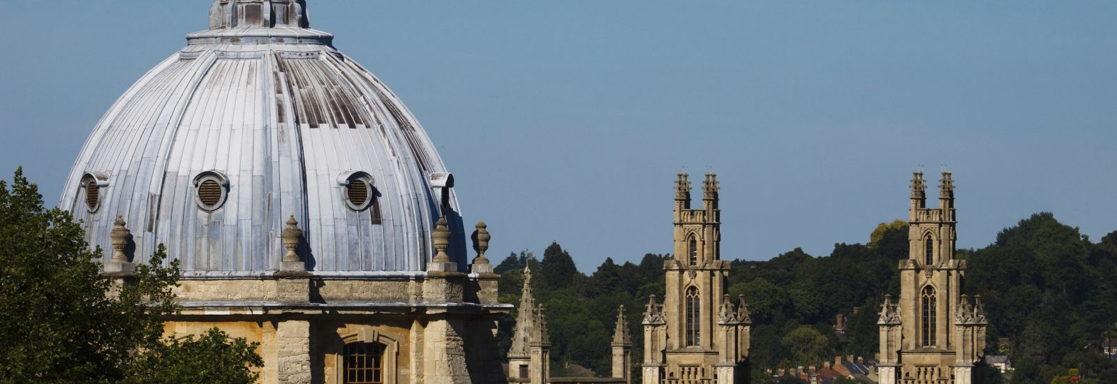 In Oxford - The Radcliffe Camera