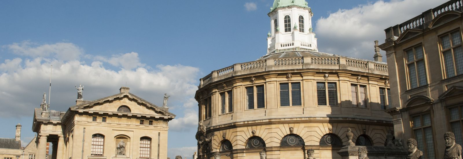 In Oxford - Sheldonian Theatre
