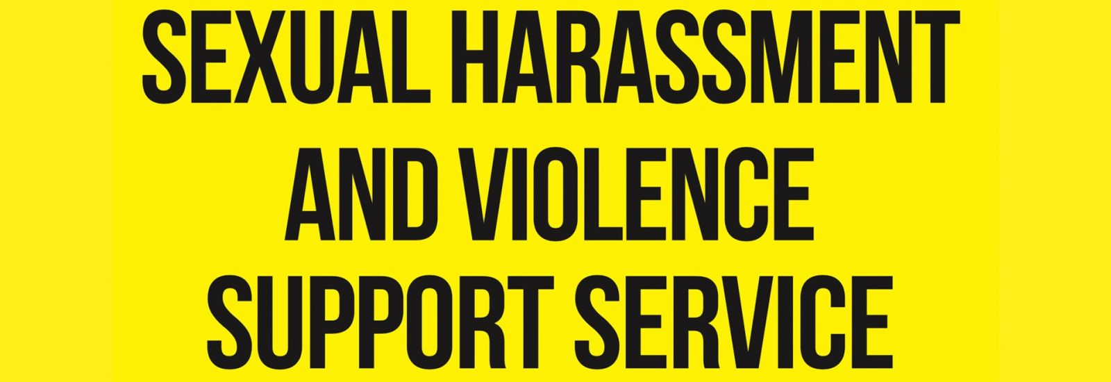 Sexual harassment and violence support service