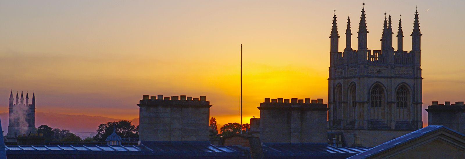 Dawn over Christ Church