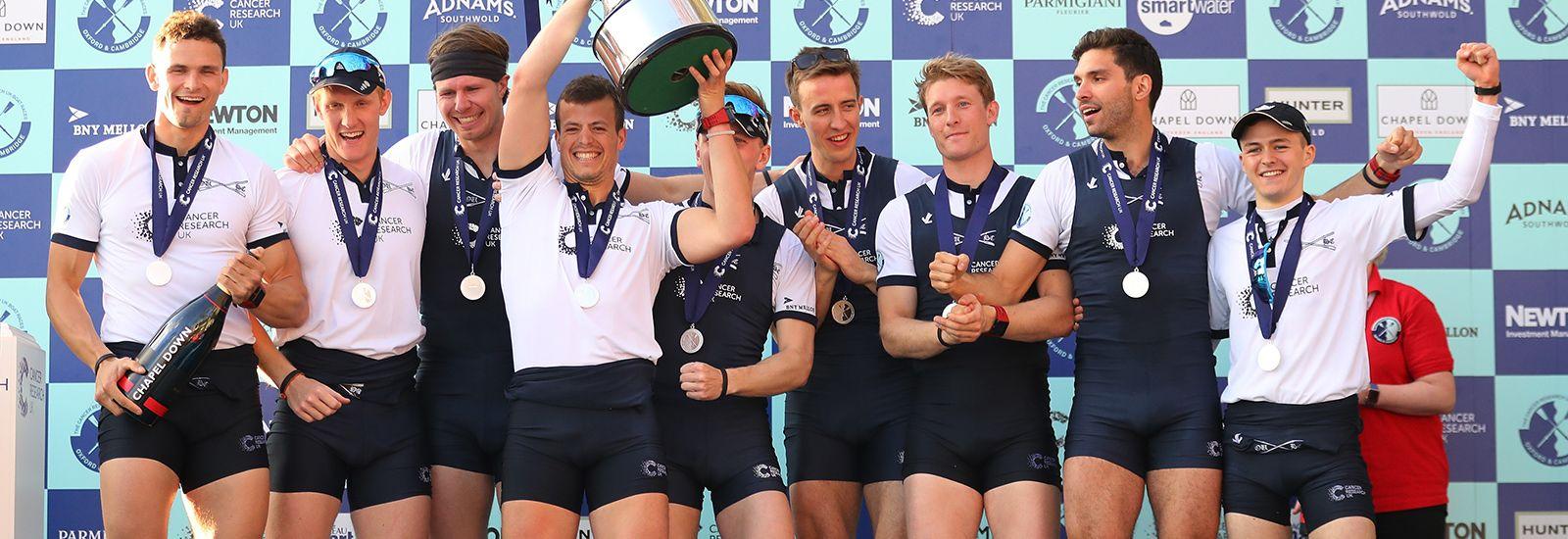 Oxford men's boat crew 2017