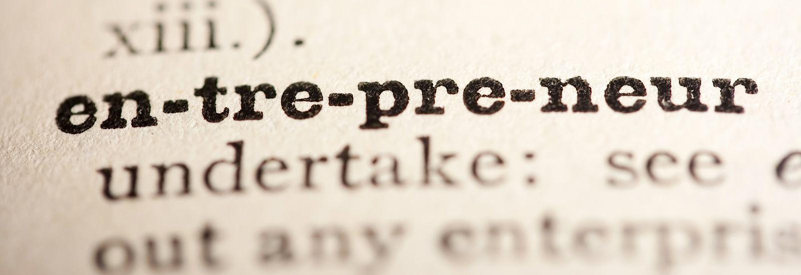 the word 'entrepreneur'