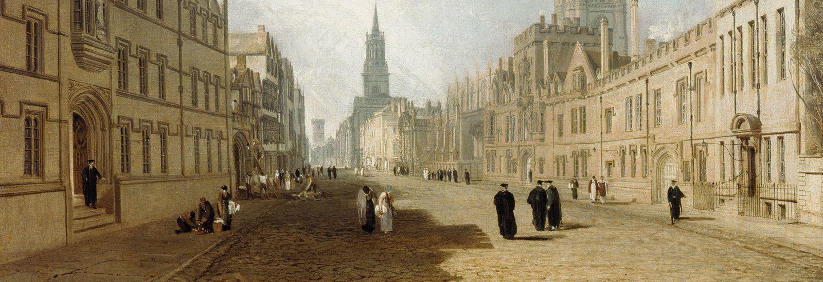 JMW Turner's 'The High Street, Oxford' (1810)