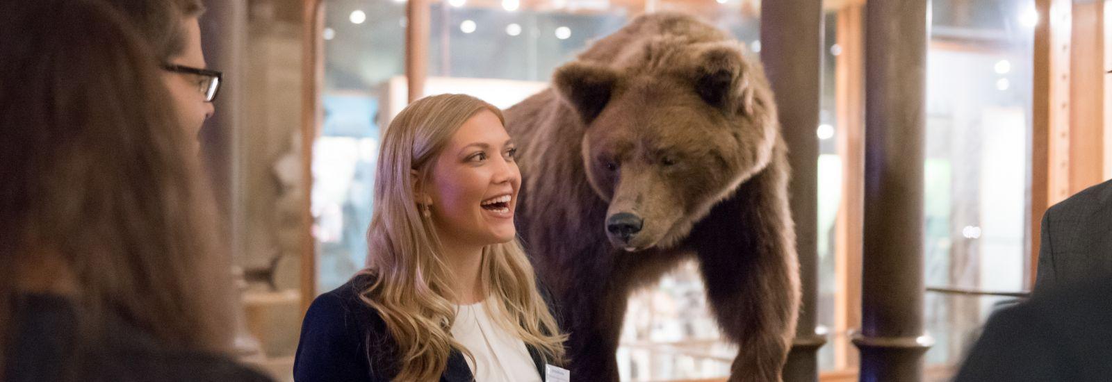 Clarendon Scholars & Bear