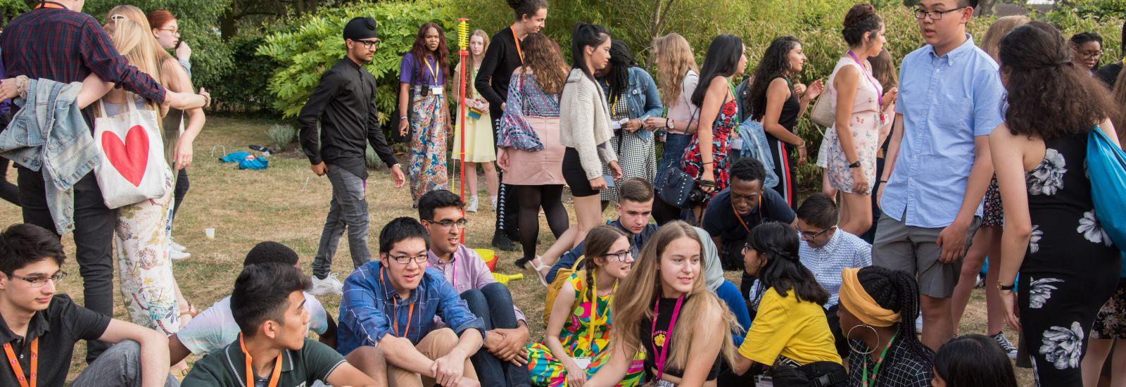 students at UNIQ