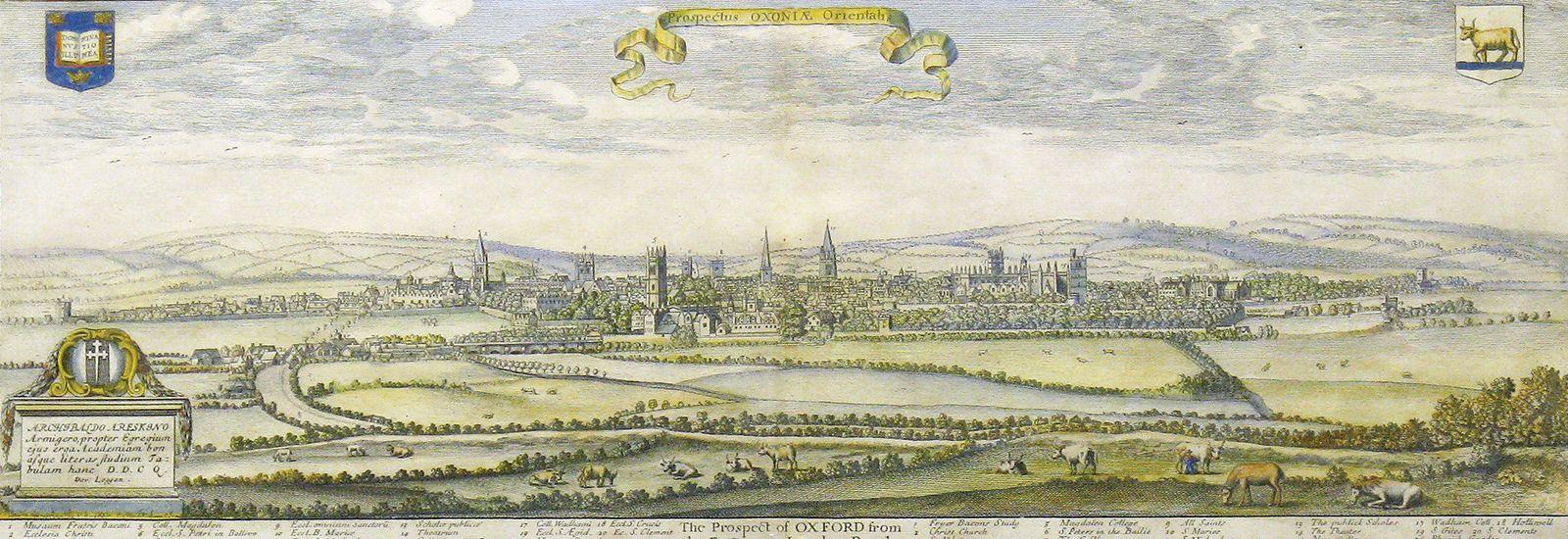 Old Oxford skyline