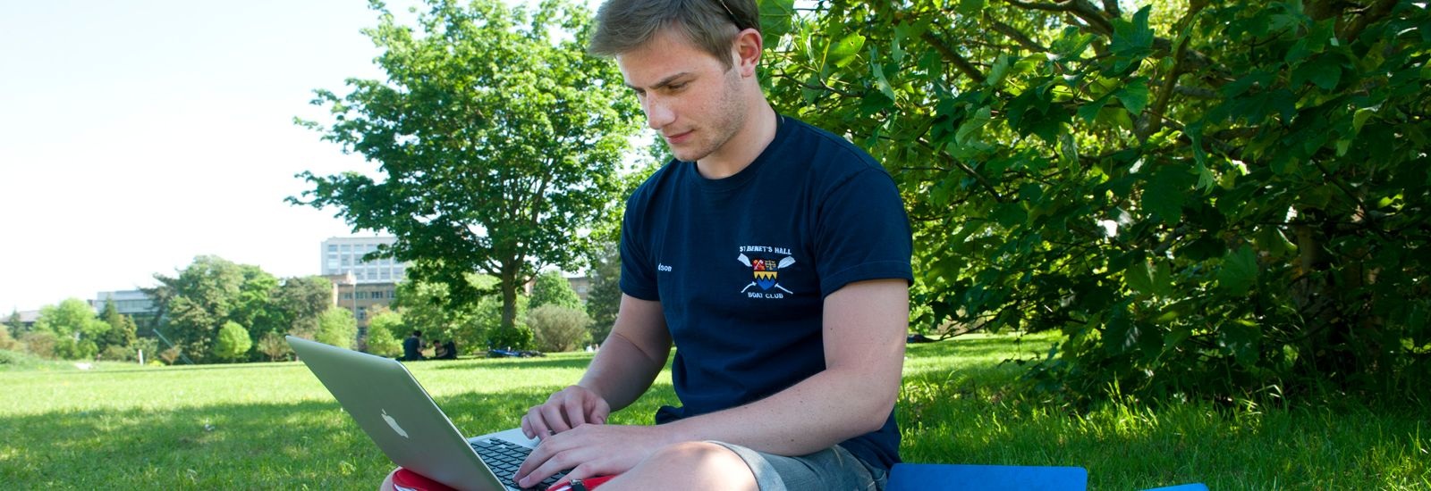 student in University Parks