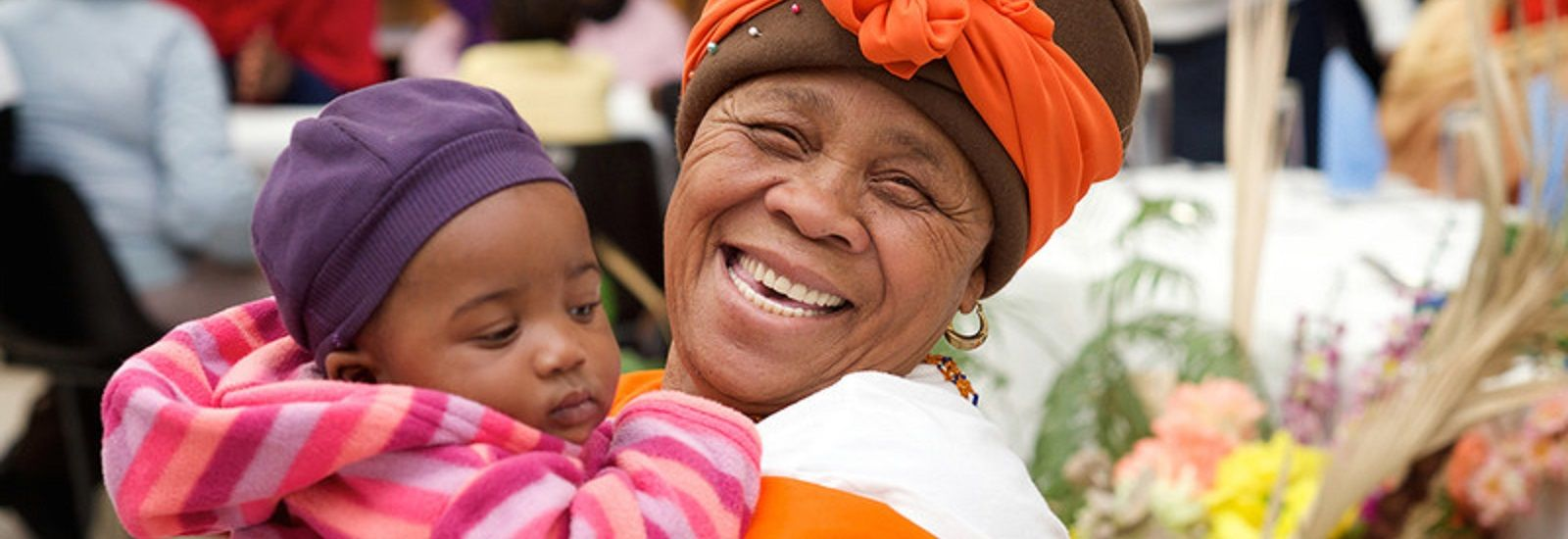 A woman and child in Khayelitsha, Cape Town
