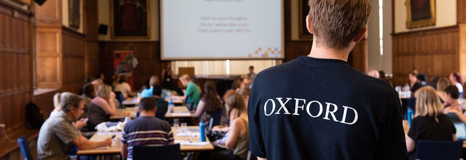 students at a seminar