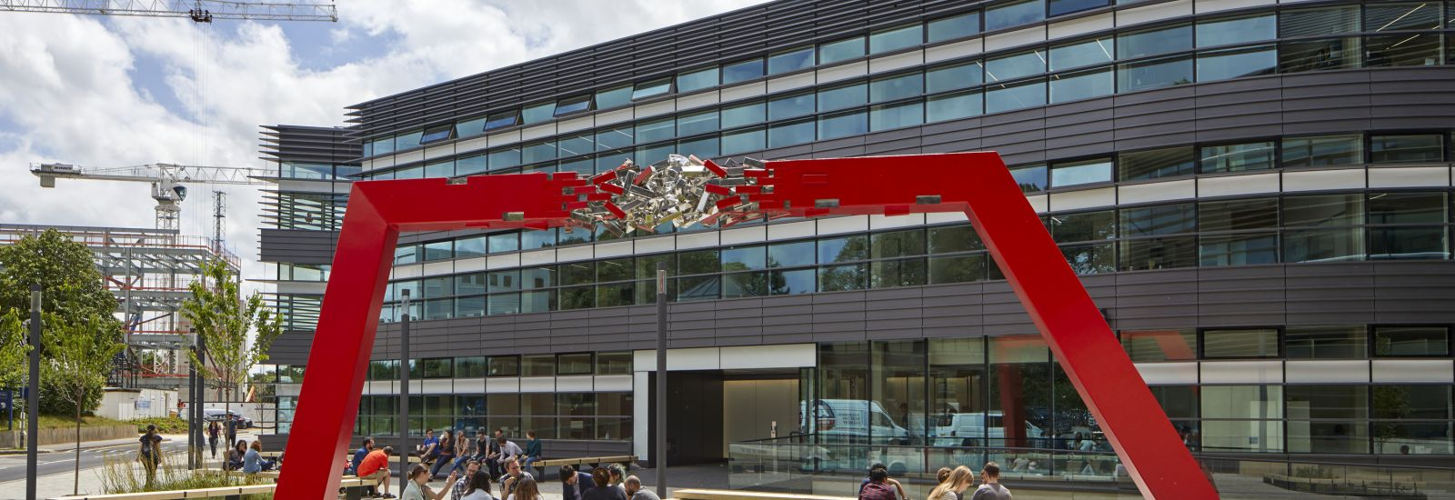 Big Data Institute - Public Art