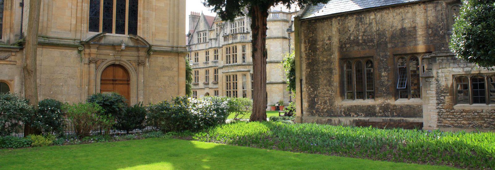 Quads in Brasenose College