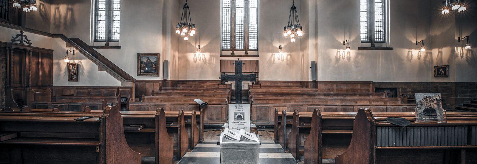 Inside LMH's Chapel