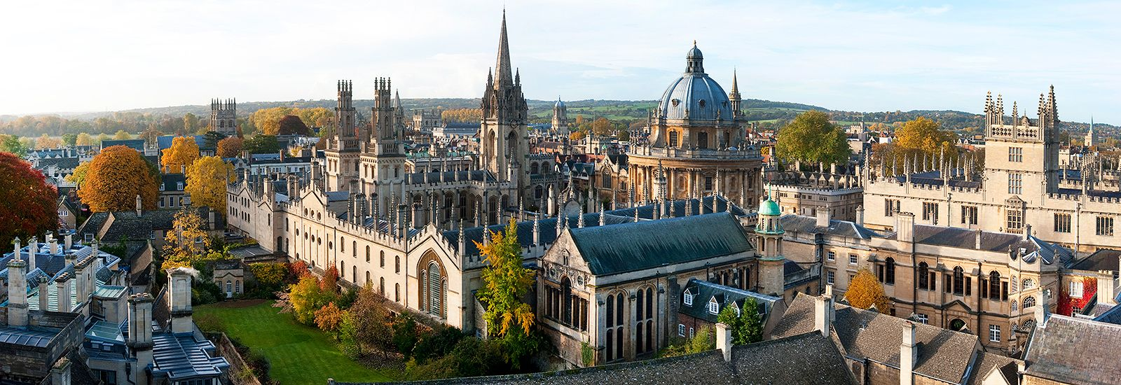 Oxford skyline including Radcliffe Square and the Bodleian