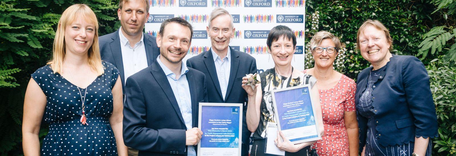 Group photo of VC PER Award winners