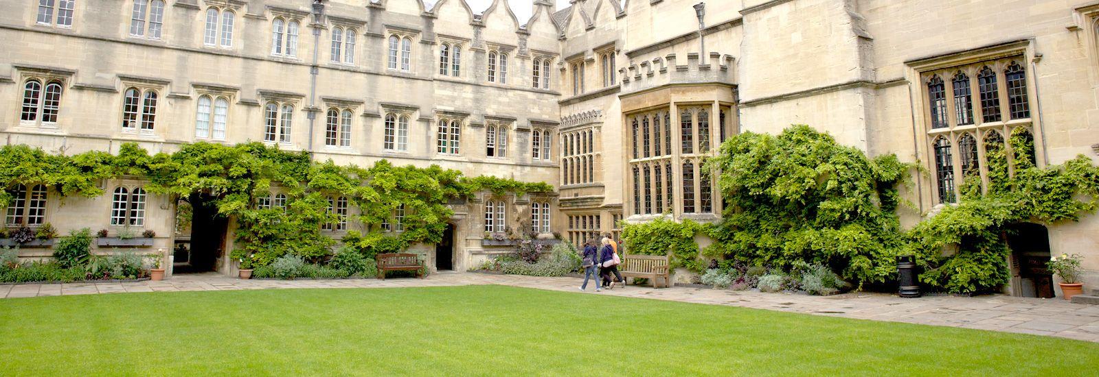A quad in Jesus College