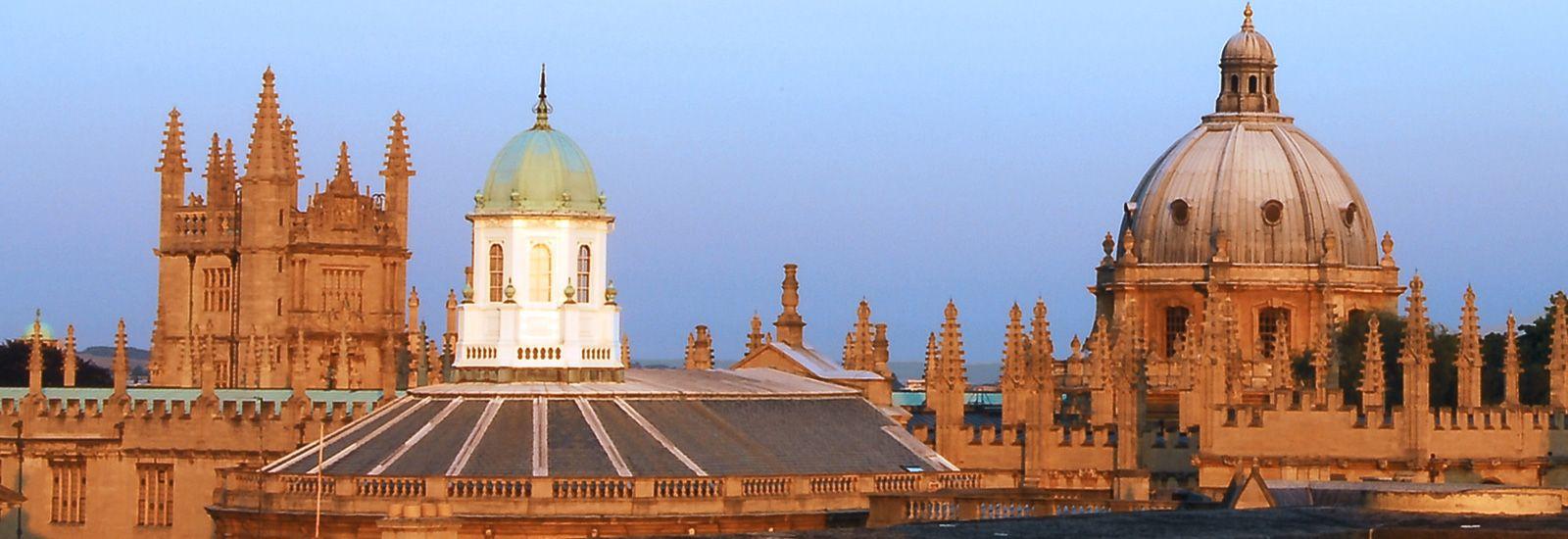 The Oxford skyline.