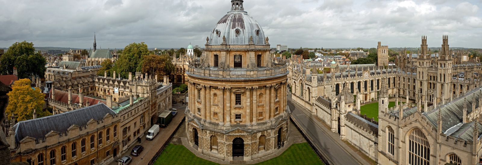 View of Oxford's Radcliffe Camera building
