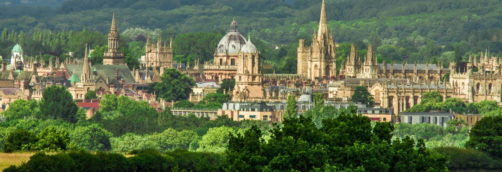 Oxford skyline