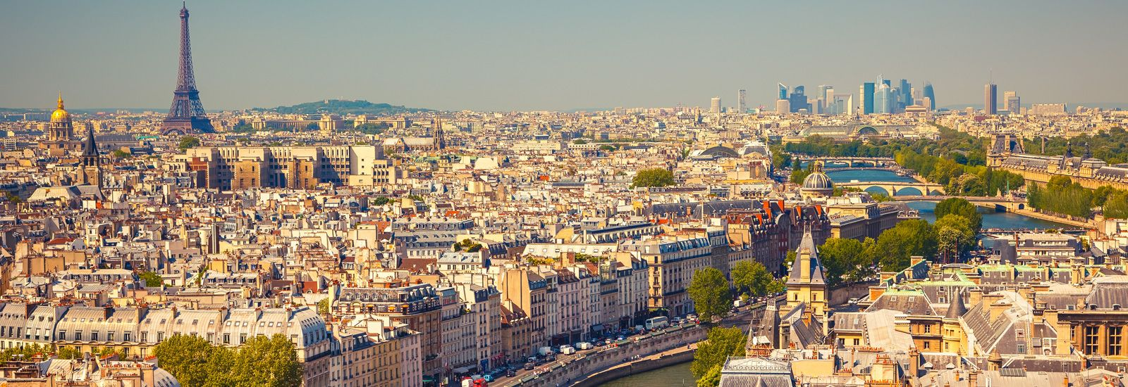 View over Paris from Notre Dame