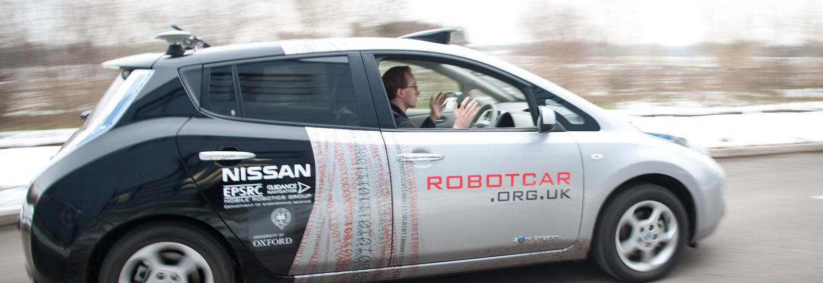 Robot Car autonomous driving, John Cairns