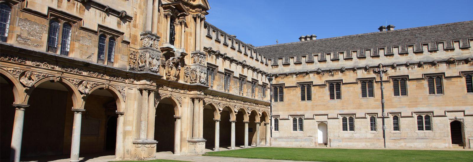 St John's College quad
