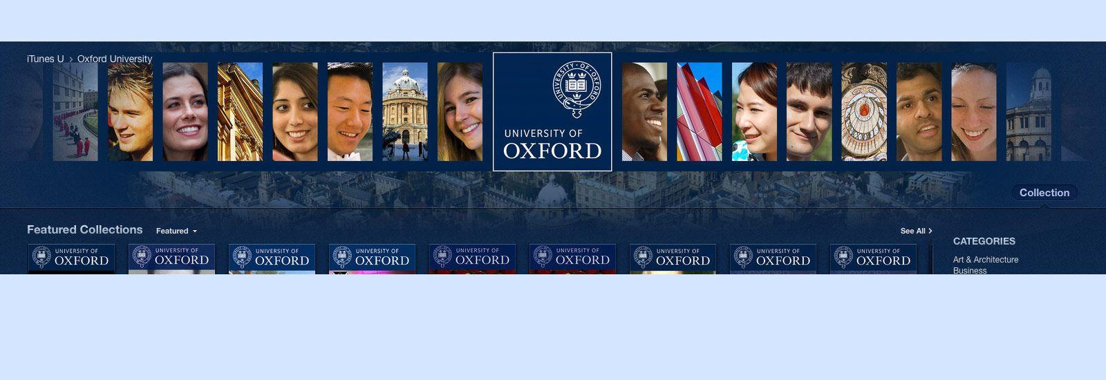 Oxford on iTunes U