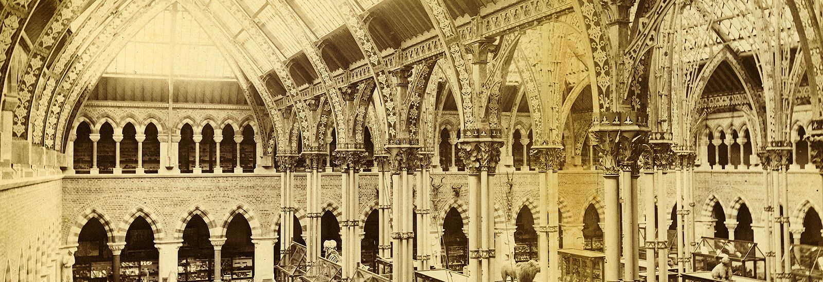 Archive image of the museum's interior