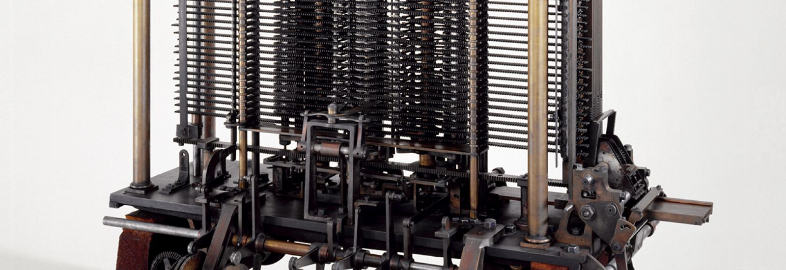 Babbage's Analytical Engine, Science Museum London. Source: Science and Society Picture Library