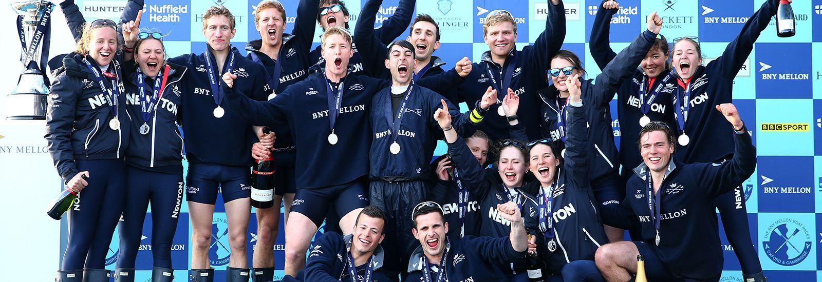 Oxford's 2015 winning teams