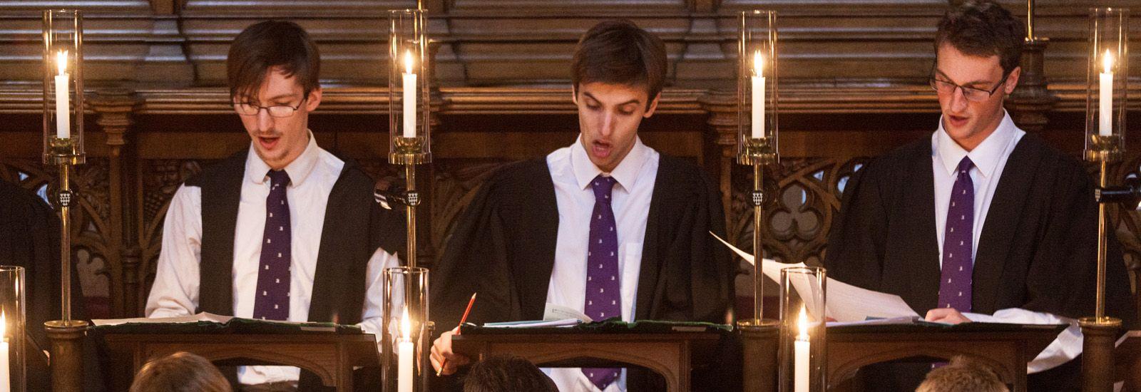 Magdalen choir