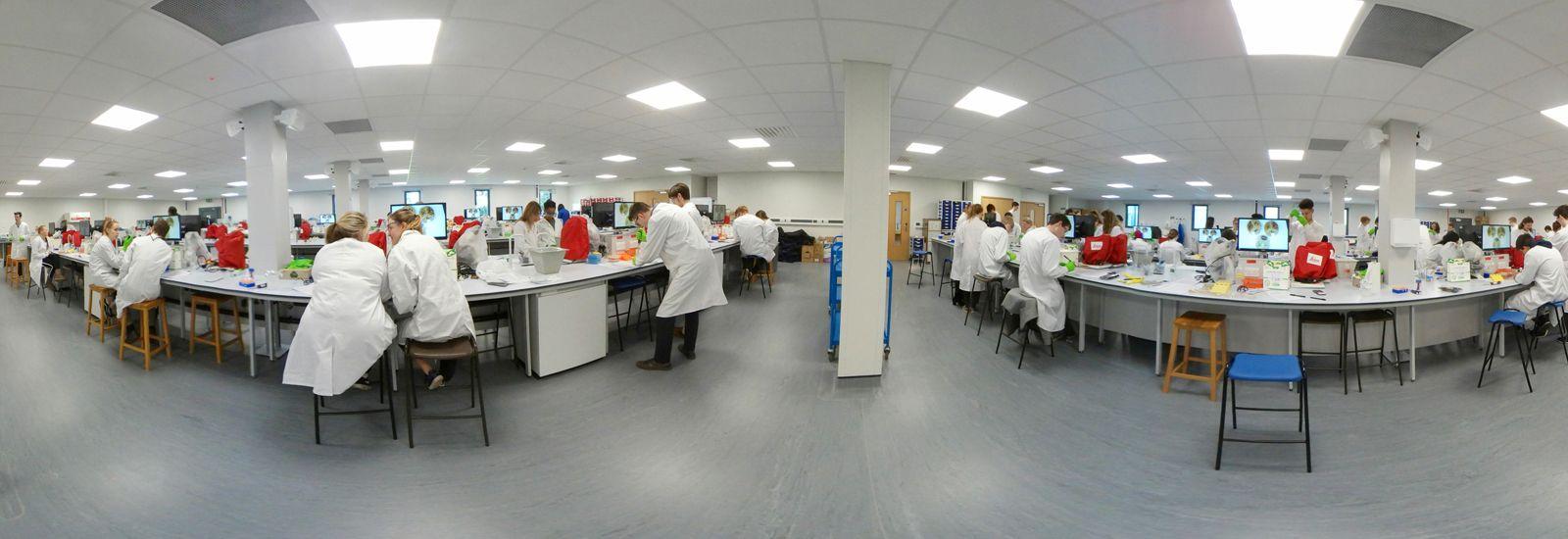 Biological Sciences lab
