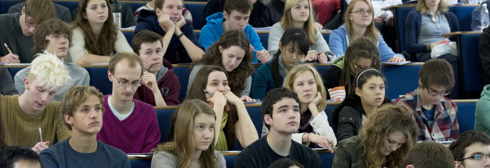 Oxford students in a lecture