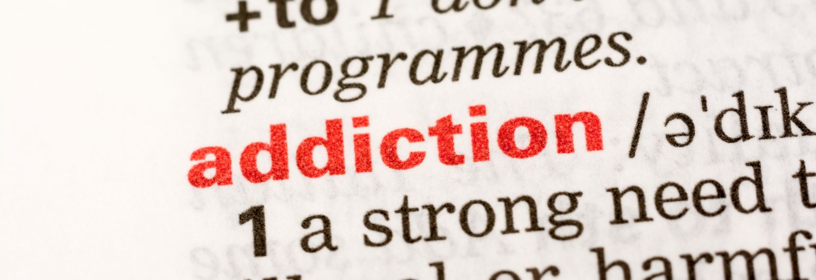 Addiction Word Definition In Dictionary