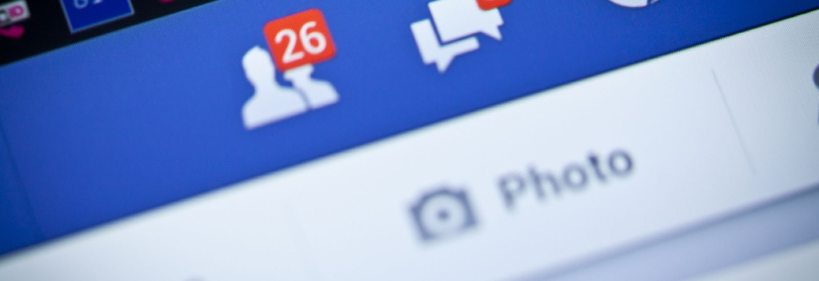 Facebook notifications of friend request ,message and notification on a smart phone. Facebook is a social networking service, owned and operated by Facebook, Inc.