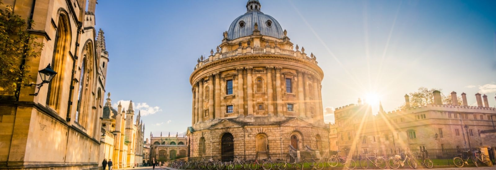 Sunrise over Radcliffe Camera
