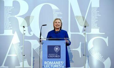 Romanes Lecture 2018 - Clinton