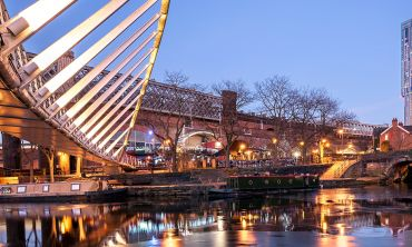 Castlefield area of Manchester