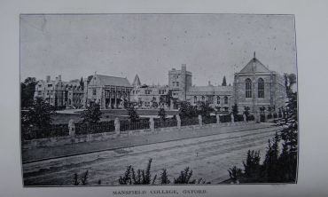 Mansfield College, 1910