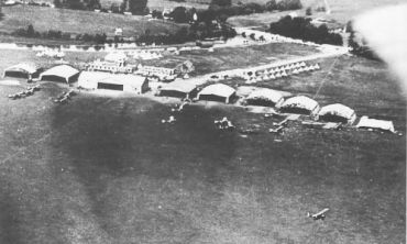 Port Meadow Airfield, Oxford during WW1